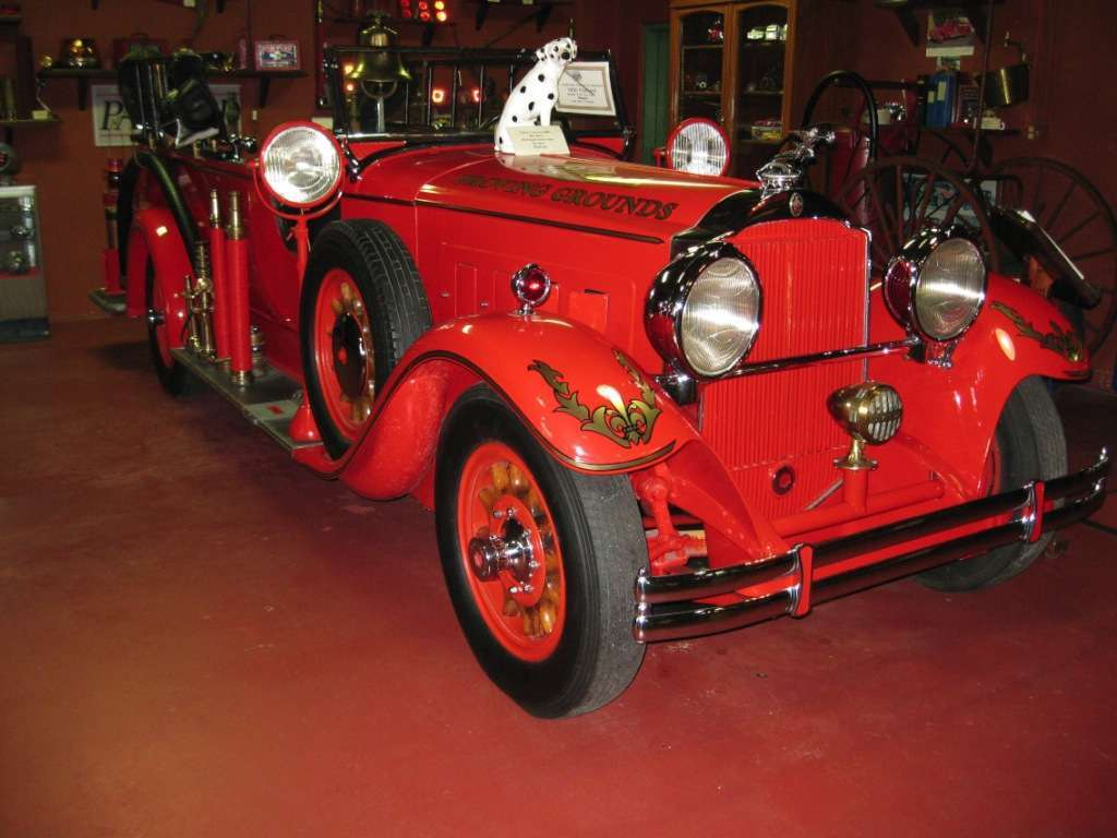 1930 Proving Grounds Fire Truck