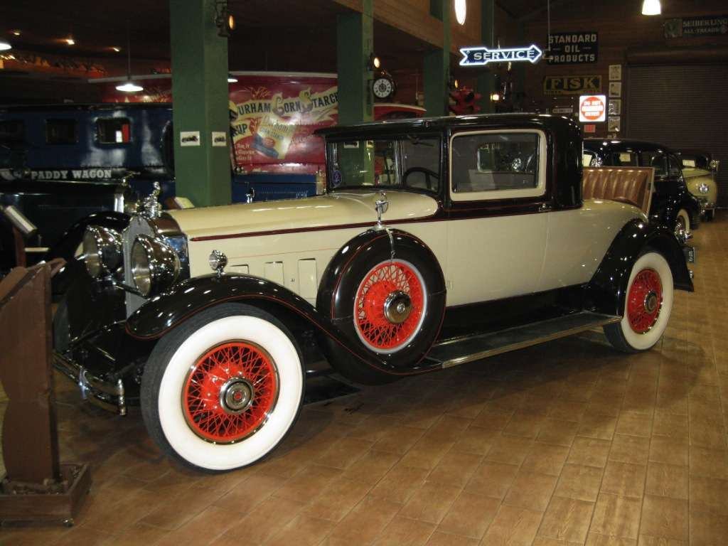 1930 Series 740 Three Window Coupe with Rumble Seat Front