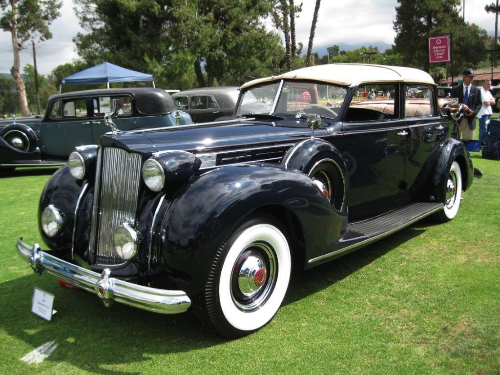 Packard 1938 Twelve Three Position Conv Sedan