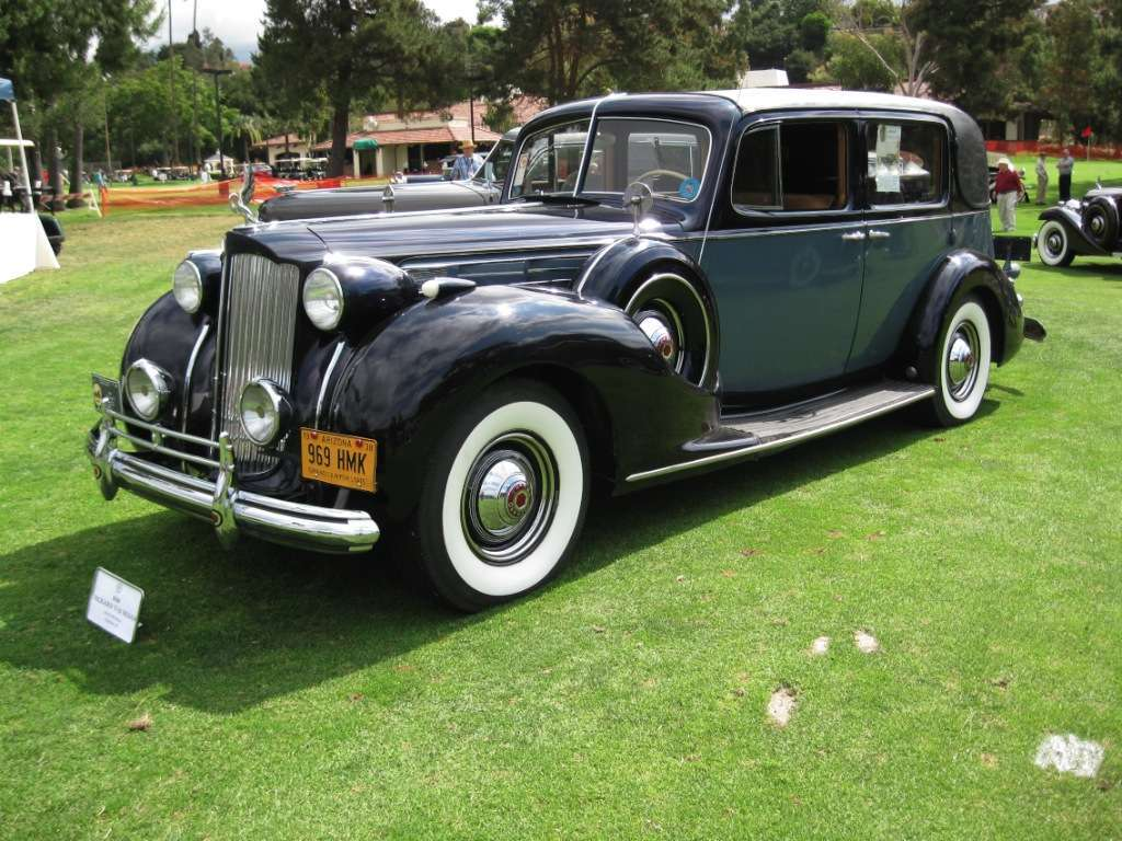 Packard 1938 Twelve Town Car