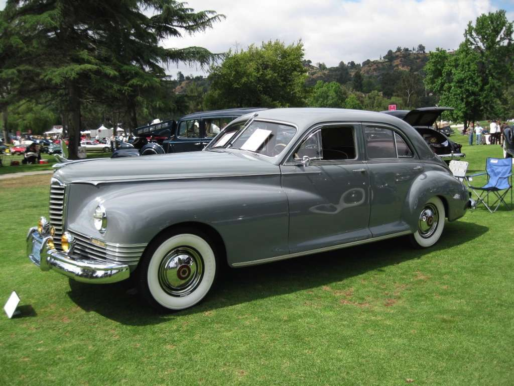 Packard 1947 Clipper Custom Drivers Front