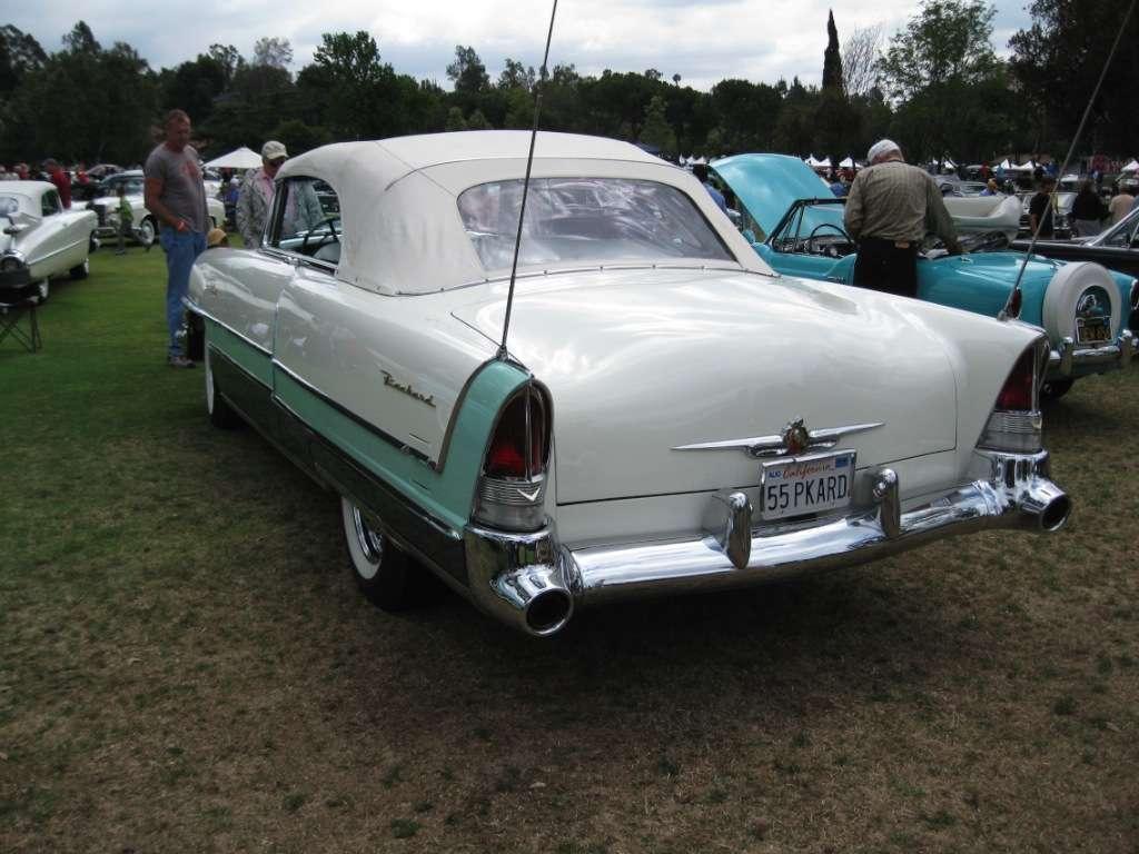 Packard 1955 Caribbean 5588-1469 Drivers Rear