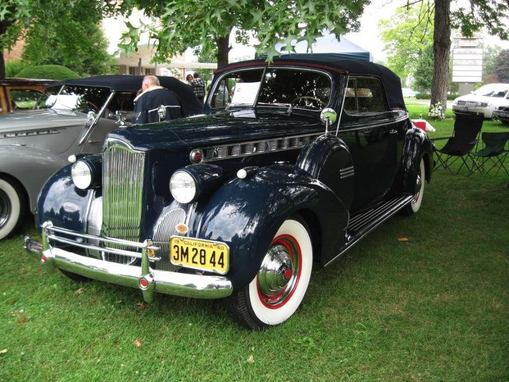 Warren Car Show July 2009 1940 Super 8 Conv Coupe
