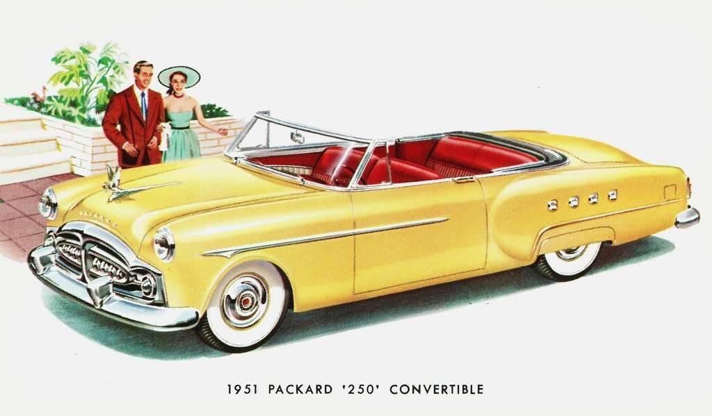 1951 PACKARD 250 CONV