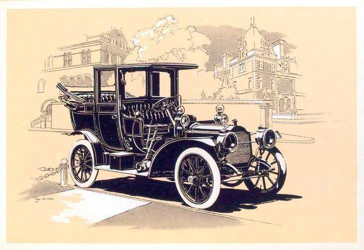 1909 PACKARD EIGHTEEN LANDAULET