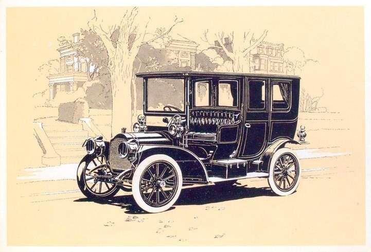 1909 PACKARD EIGHTEEN LIMOUSINE