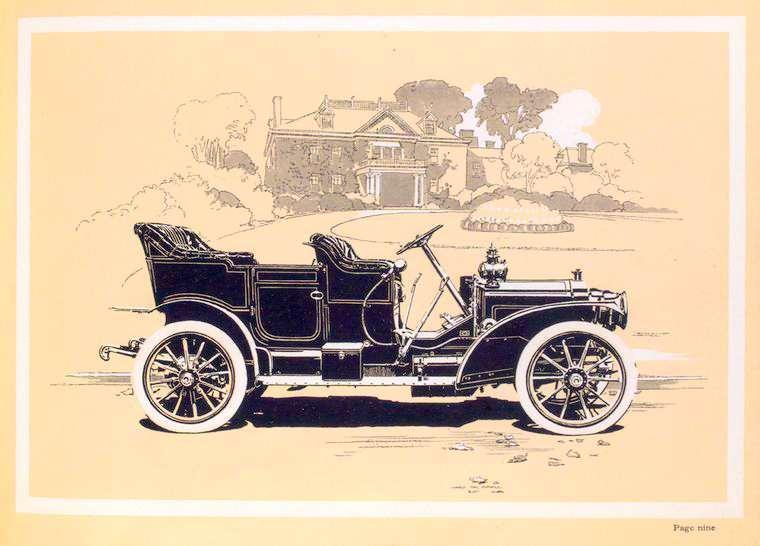 1909 PACKARD EIGHTEEN OPEN CAR
