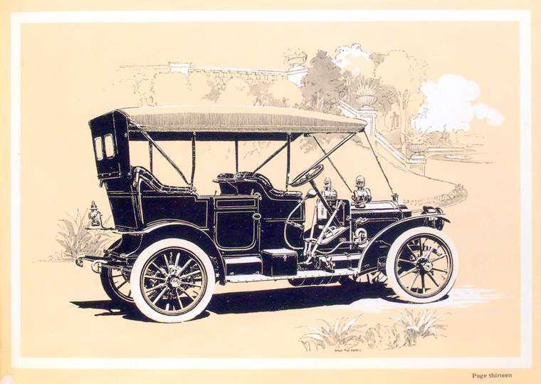 1909 PACKARD EIGHTEEN OPEN CAR-TOP UP