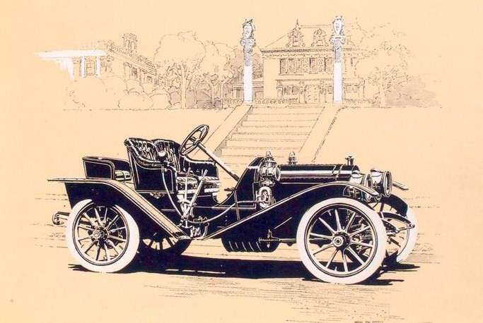 1909 PACKARD EIGHTEEN RUNABOUT