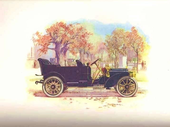 1908 PACKARD THIRTY OPEN CAR