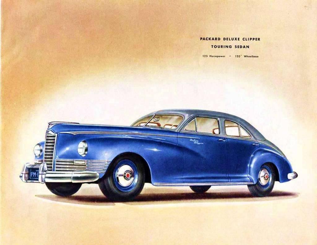1946 PACKARD CLIPPER DELUXE TOURING SEDAN