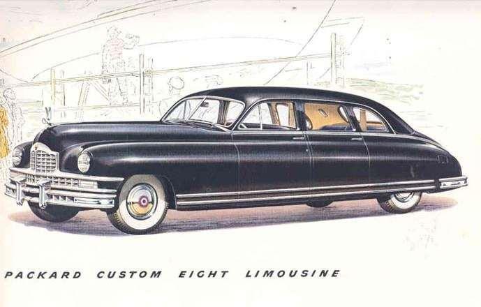 1948 PACKARD HENNEY CUSTOM EIGHT 7-PASS LIMOUSINE