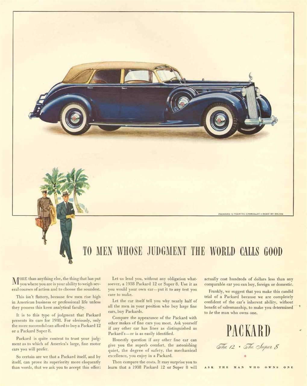 1938 Packard 12 Touring Cabriolet by Brunn 2