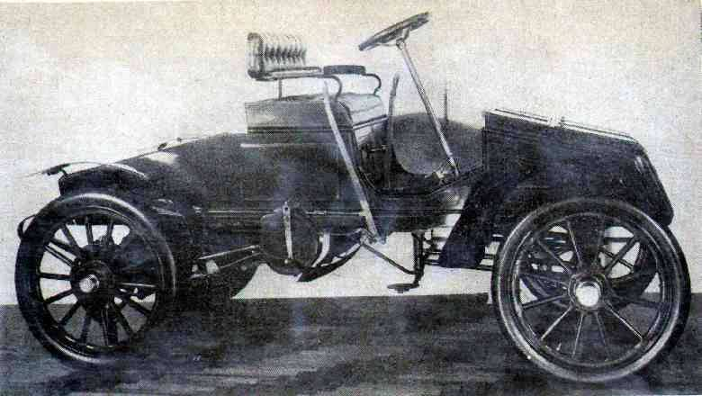 1903 Packard Old Pacific