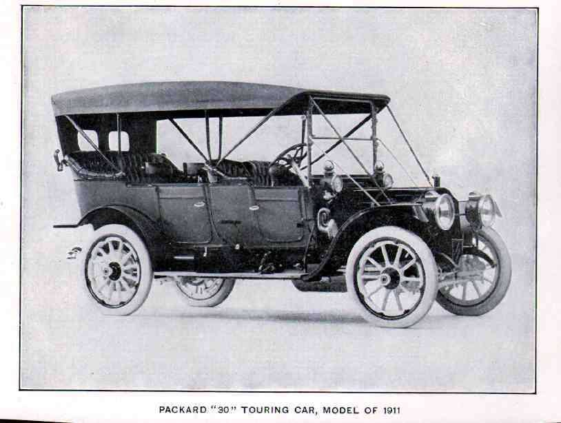 1911 Packard 30 Touring