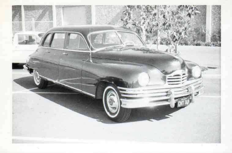 1950 7 Passenger Limo