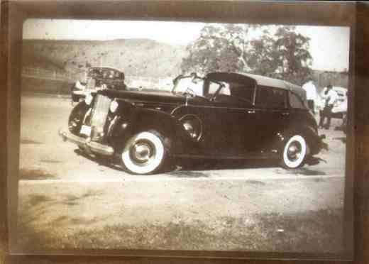 1938 Three Position Convertible Sedan