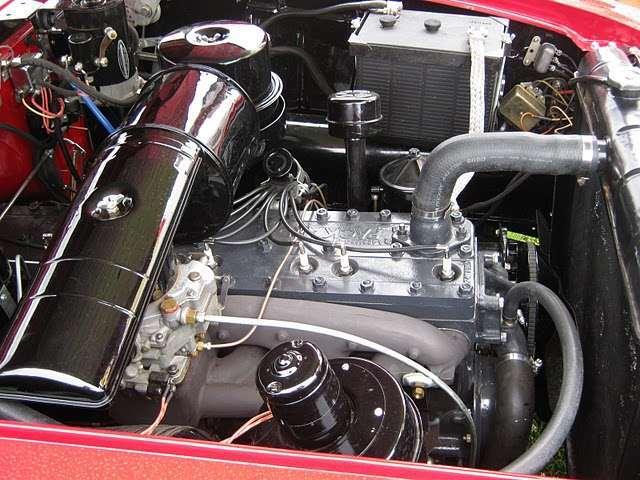 '51  Convertible with 327 9 main & 4bbl