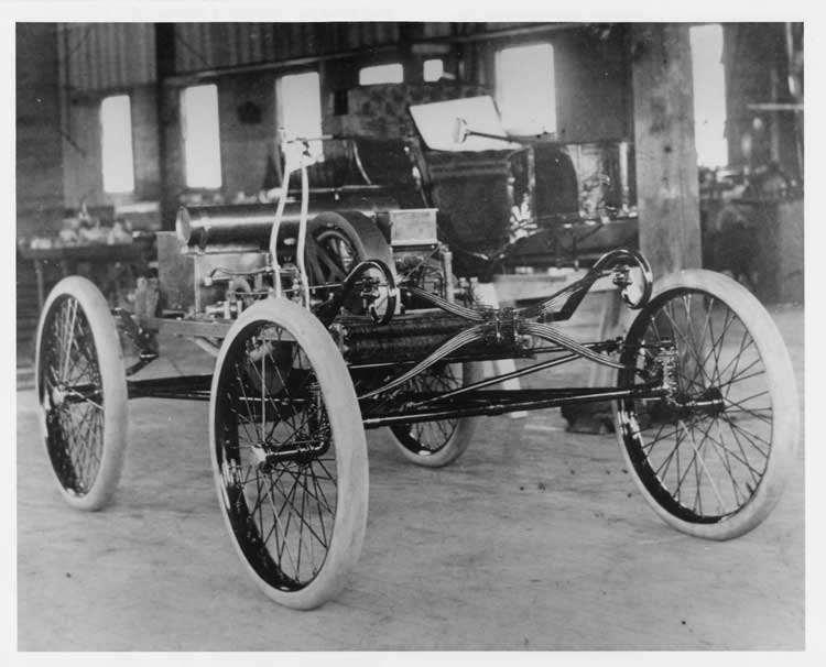 1899 Packard Model A in factory