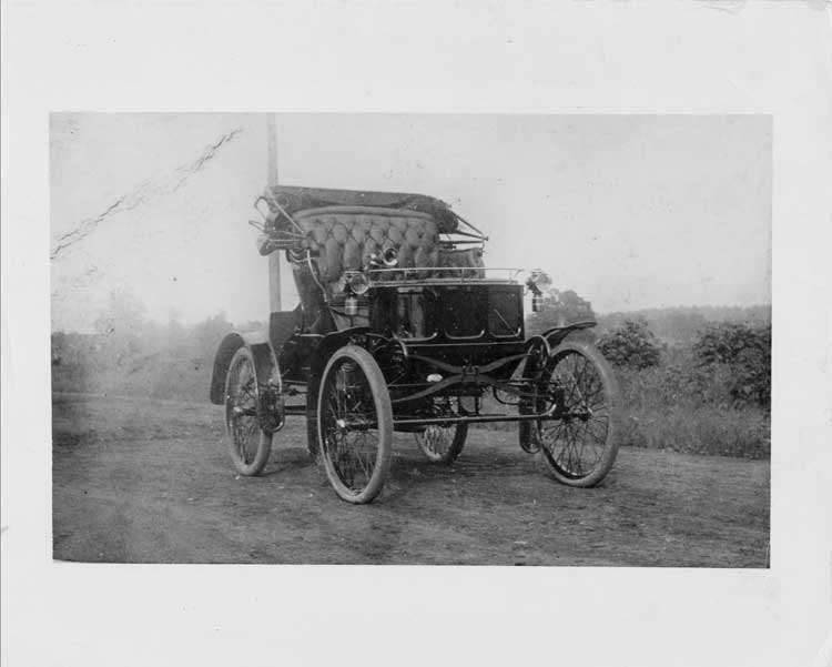 William Doud Packard's personal car