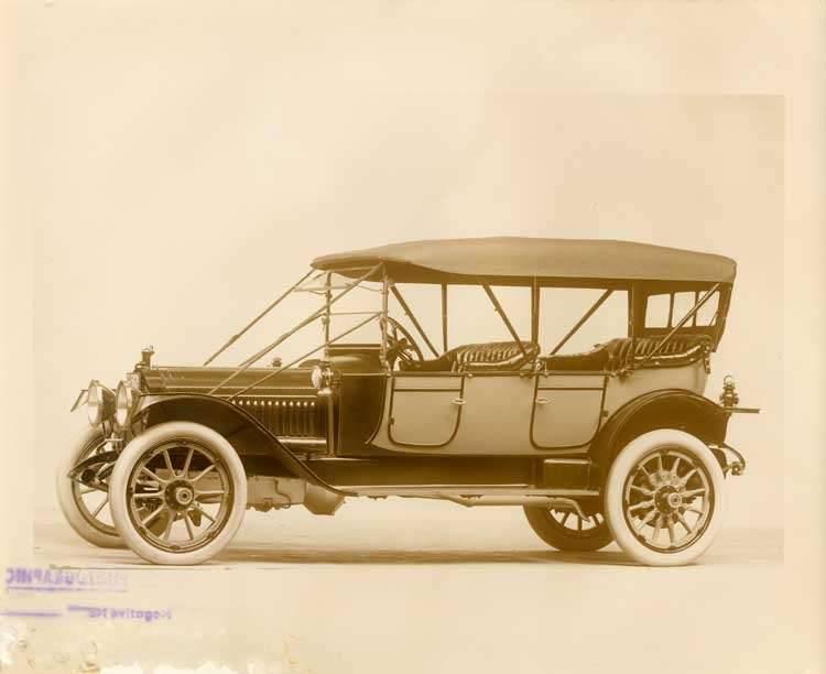 1912 Packard phaeton, left side view