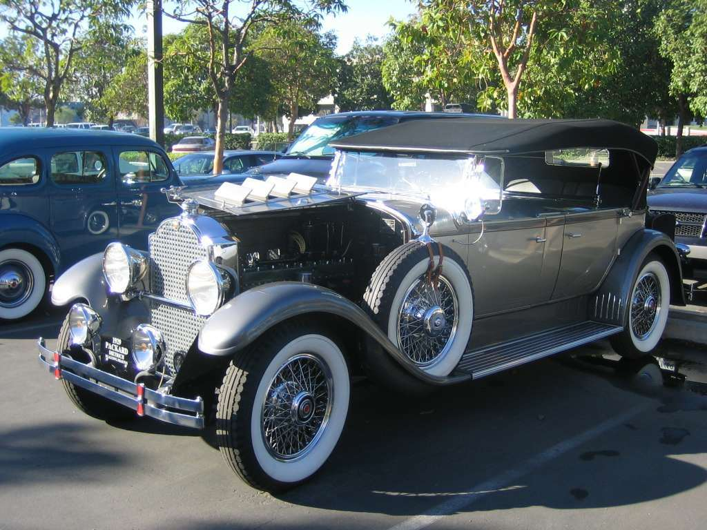 1929 Packard Sports Phaeton