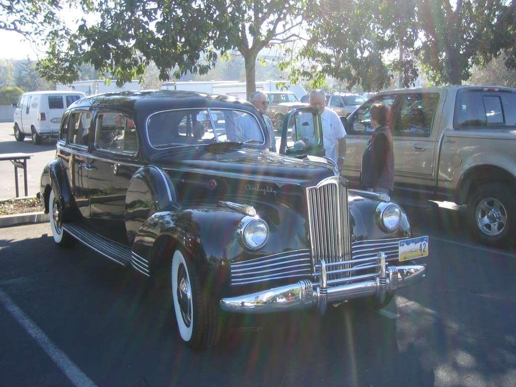 1942 Super Eight 180 Custom Touring sedan 2007 Body 1542