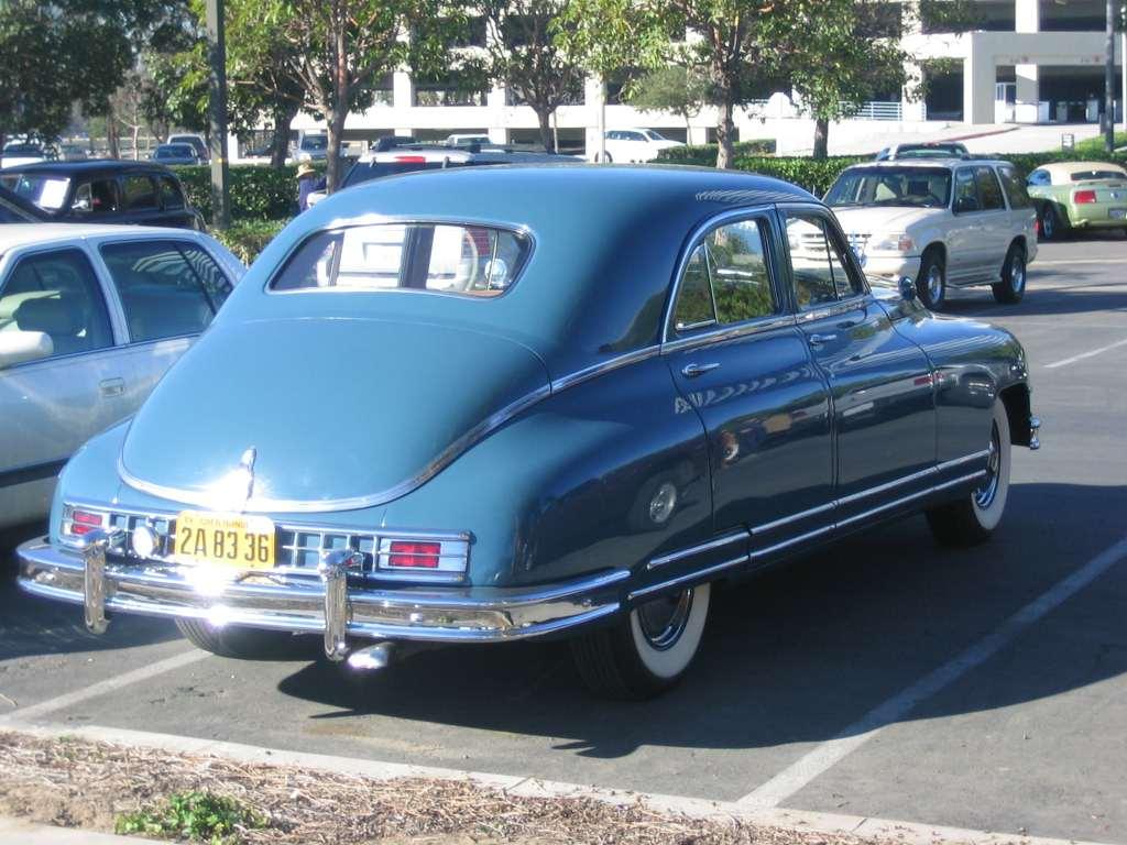 1948-49 Custom Eight Touring Sedan 2206 body 2252