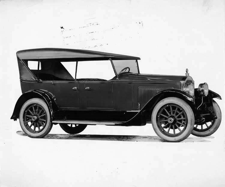 1924 Packard touring car, new single six, four-wheel brake job