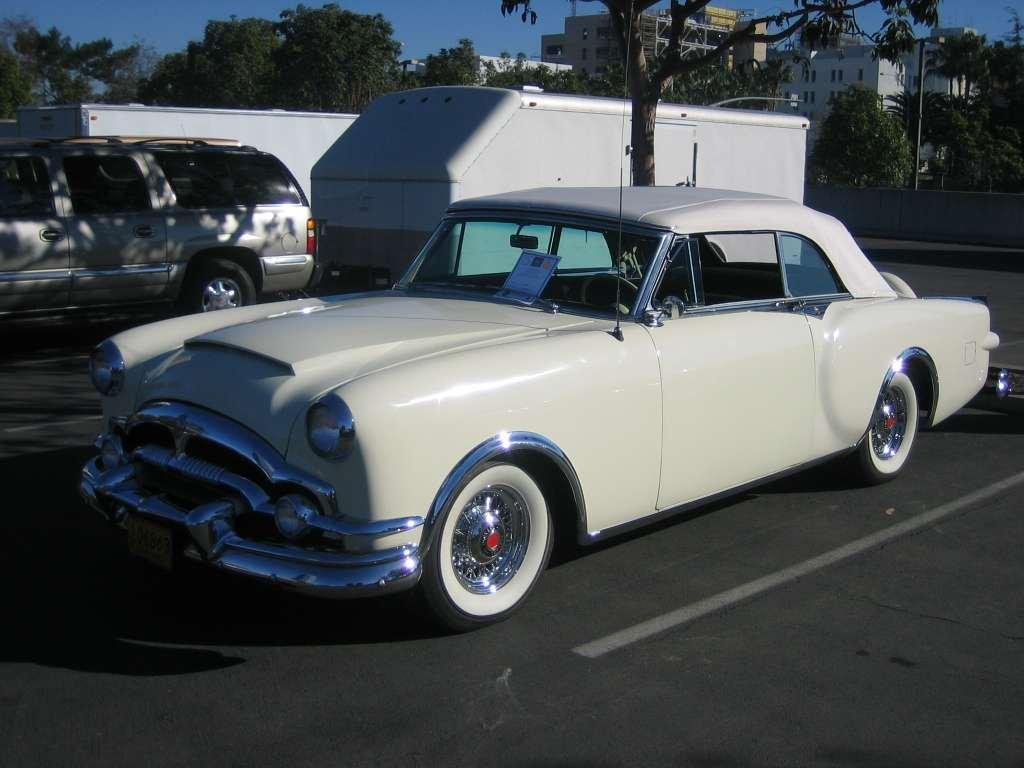 Packard Motor Car Information - 1953 Packard Caribbean