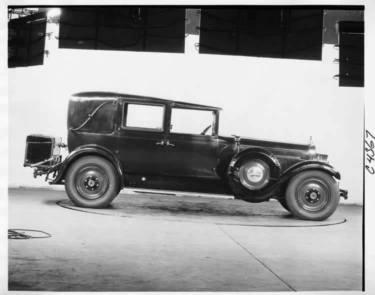 1926 Packard all weather town cabriolet, right side view