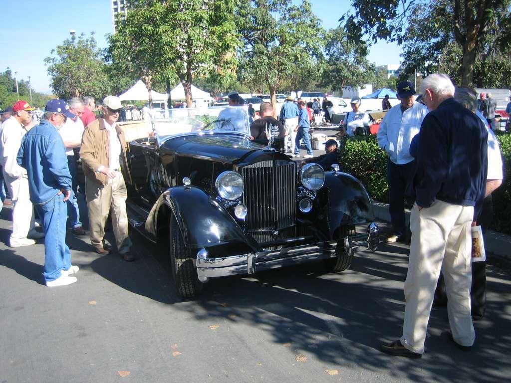 1934 Twelve 1107 Roadster 2-4 passenger Body 739