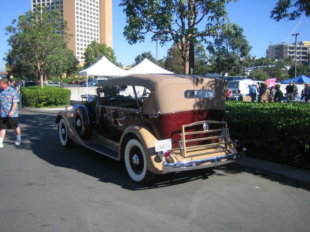 1934 Super Eight 1104 Touring Body 750