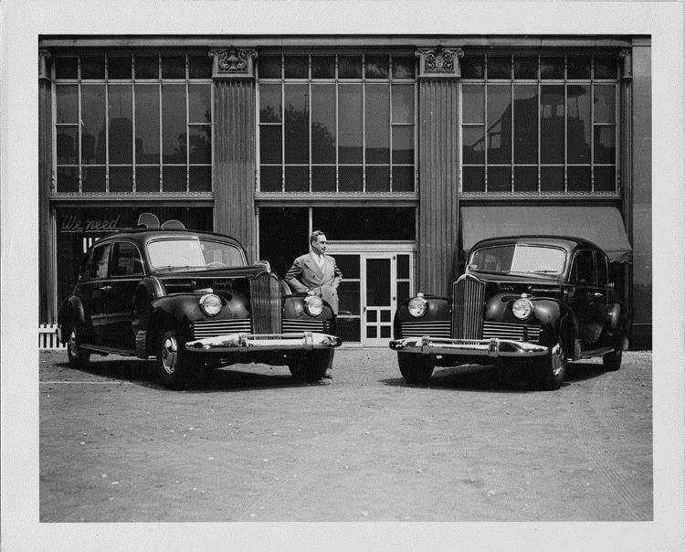 1942 Packard touring sedans sold to Russian government