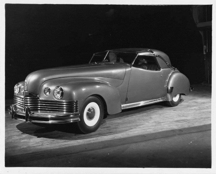 1944 Packard Brown Bomber, nine-tenths front left view