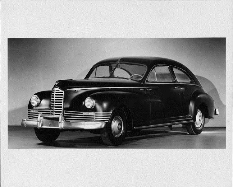 1946 Packard Super Clipper, three-quarter left front view