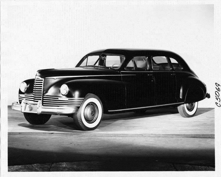 1946 Packard Clipper limousine, three-quarter left front view
