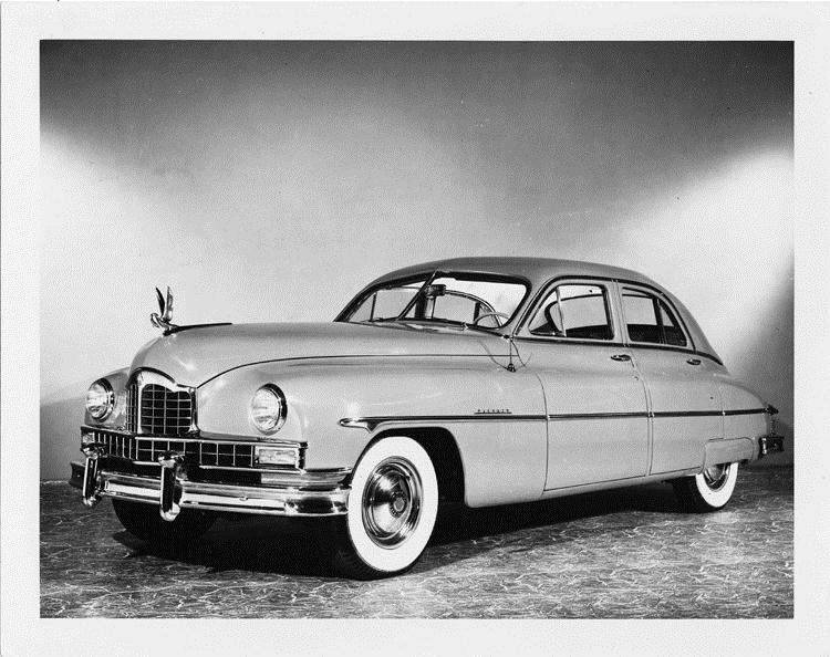 1950 Packard touring sedan, three-quarter front left view