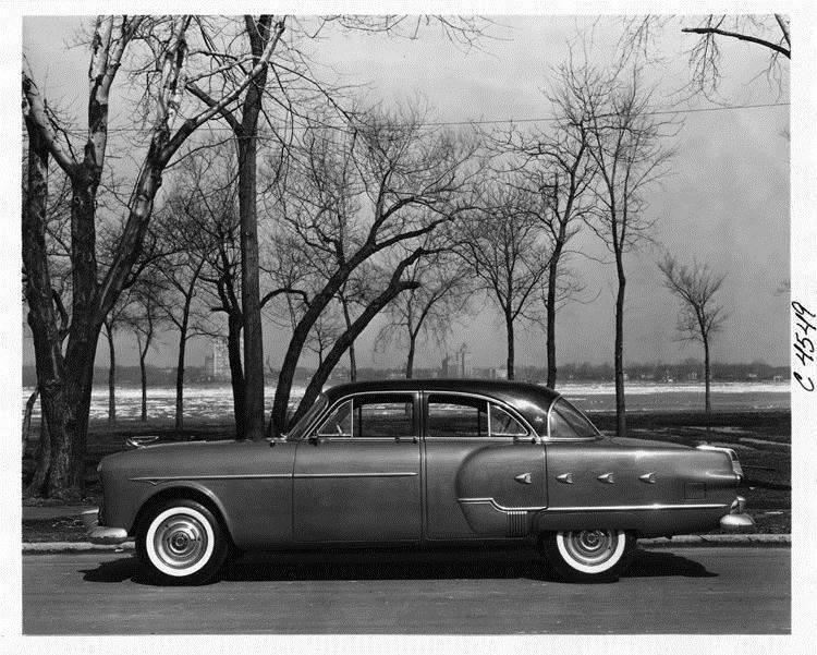 Packard motor car information 1952 packard patrician 400 for 1952 packard 4 door sedan