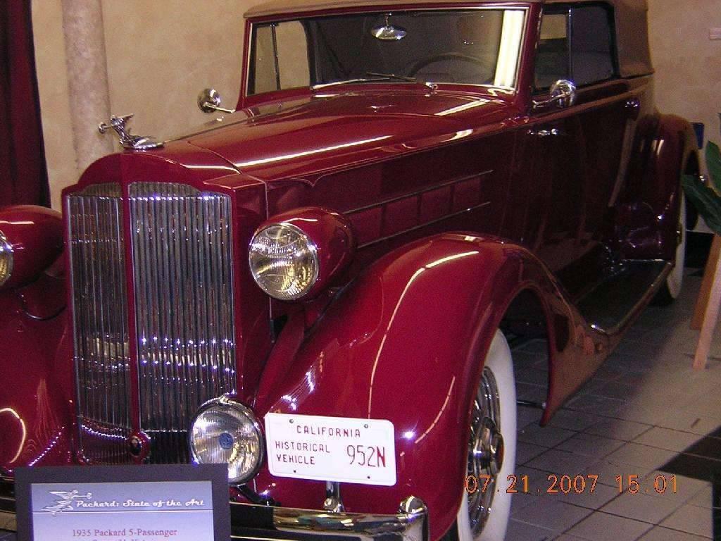 1935 5 Passenger Victoria Convertible