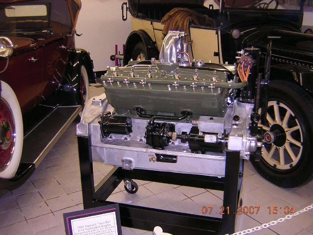 "1920 Packard ""Twin-Six"" Engine"
