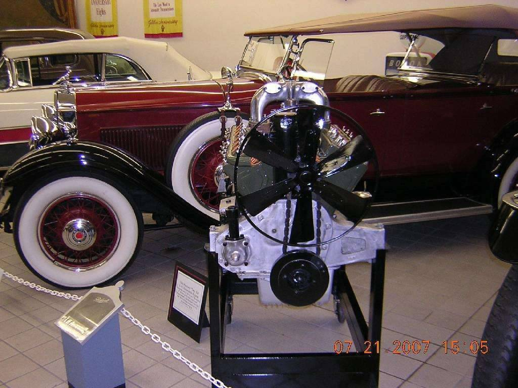"1920 Packard ""Twin-Six"" Engine"