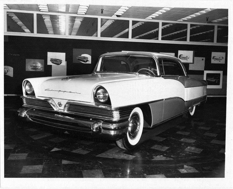 1956 Packard Clipper, three-quarter front left view