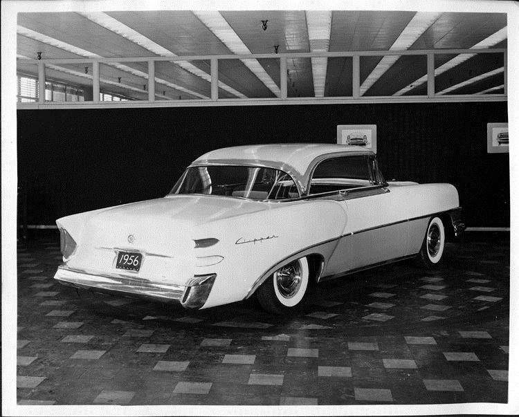 1956 Packard Clipper, three-quarter rear right view