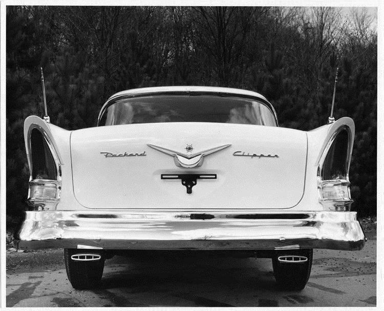 1957 Packard Clipper, rear view