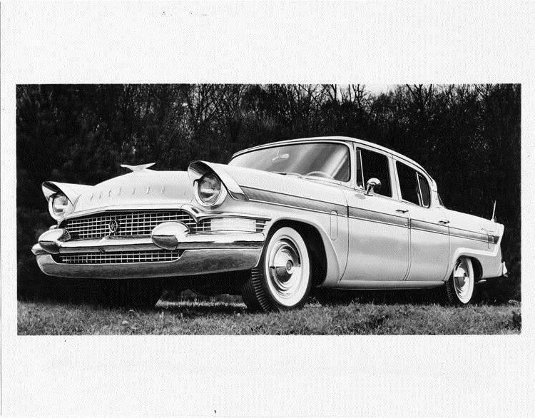 1957 Packard Clipper sedan, three-quarter front left view