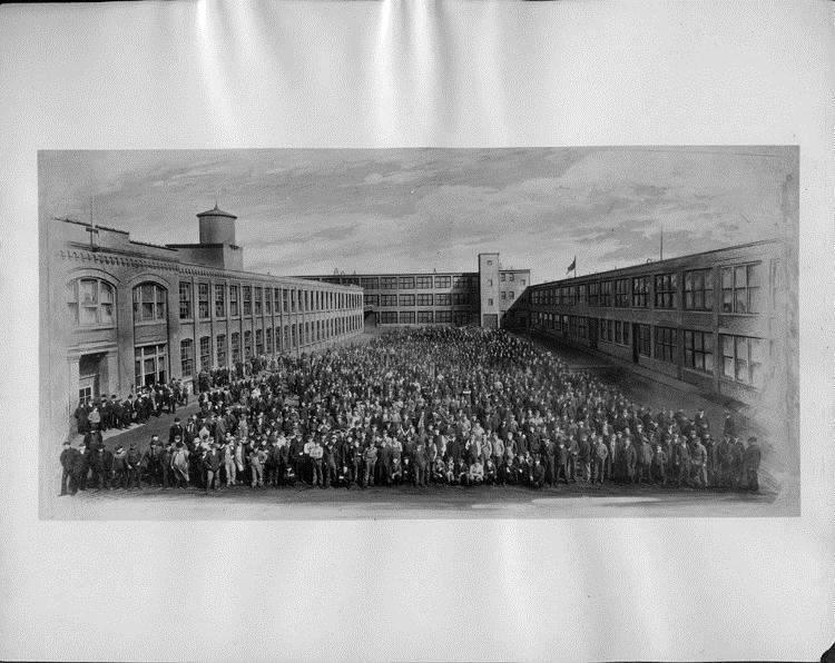 1915 Packard Motor Car Co. employees
