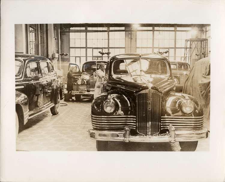 1946 Packard ZIS-110 limousines in post World War II Russia
