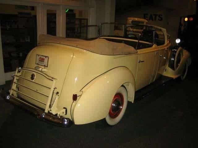 1939 Super Eight Phaeton by Derham - Juan and Evita Peron car-3