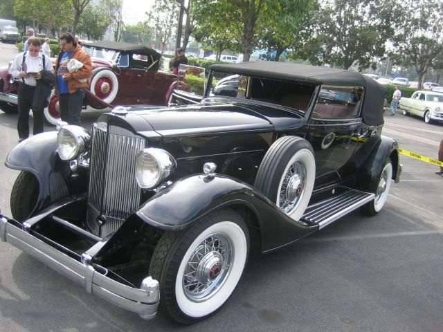1933 Twelve Victoria Convertible Coupe